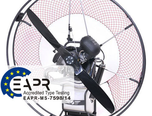 Test report G-Force MOSTER 185 in PARAMOTOR magazine